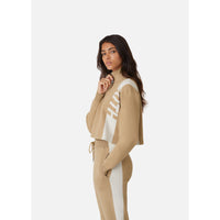 Kith Women Harper Half Zip - Tan Thumbnail 5