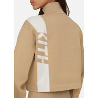 Kith Women Harper Half Zip - Tan Thumbnail 6