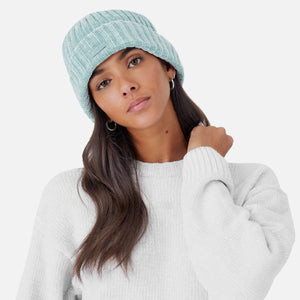 Kith Women Jasmine Chenille Crew - Light Grey