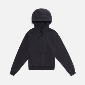 Kith Women Jane Interlock Hoodie - Black Image 1