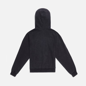 Kith Women Jane Interlock Hoodie - Black Image 2