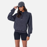 Kith Women Jane Interlock Hoodie - Black Thumbnail 1
