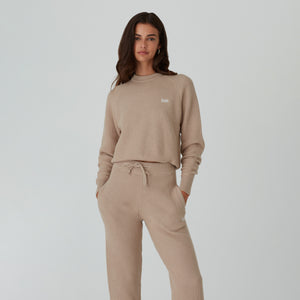 Kith Women Beverly Crewneck - Chai