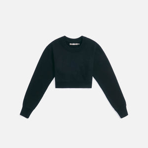 Kith Women Lynn Cropped Crew - Black