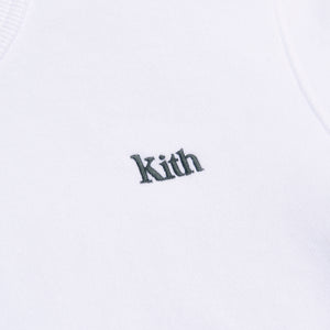 Kith Women Lynn Cropped Crew - White