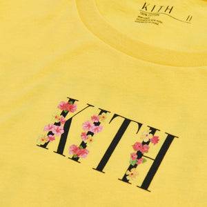 Kith Women Positive Thinking Tee - Yellow