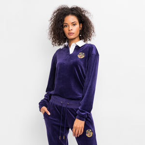 Kith Women Ace Rugby L/S - Purple