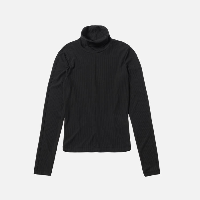 Kith Women Brynn L/S Turtleneck - Black
