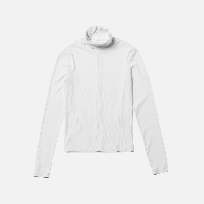 Kith Women Brynn L/S Turtleneck - White