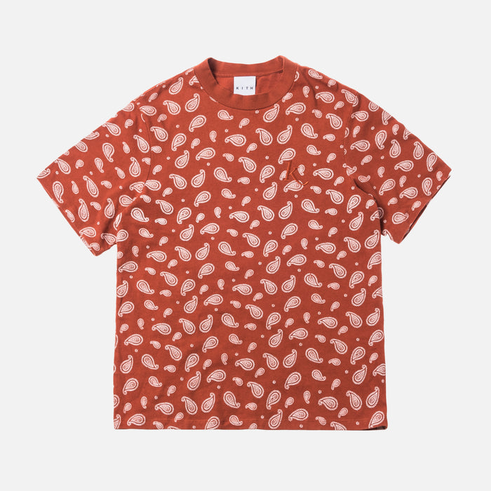 Kith Women Heavy Mei Tee - Burnt Orange