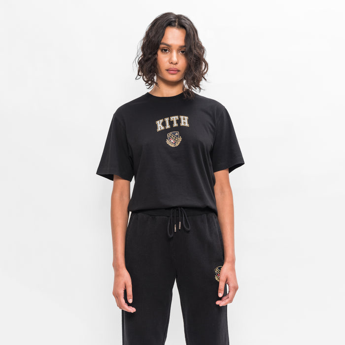 Kith Women Collegiate Mott Tee - Black