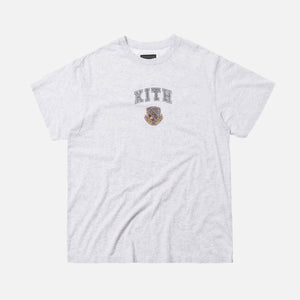 Kith Women Collegiate Mott Tee - Light Heather Grey