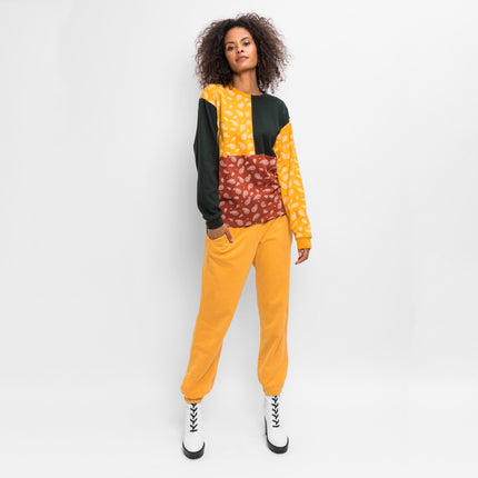 Kith Women Heavy Sonoma L/S - Golden Yellow / Forest Green