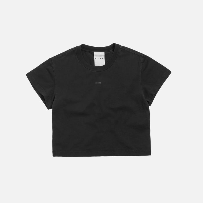 Kith Women Mulberry Tee - Washed Black