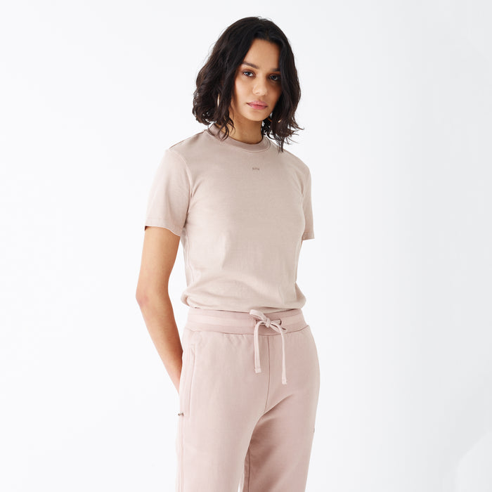Kith Women Maddy High Crew Tee - Goat