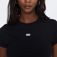 Kith Women Mulberry Tee - Black Thumbnail 1