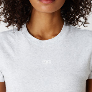 Kith Women Mulberry Tee - Light Heather Grey