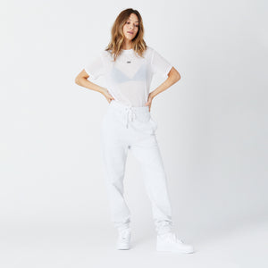 Kith Women Maddy Sheer Tee - White Image 2