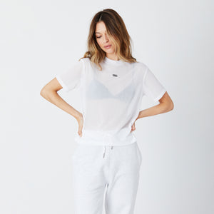 Kith Women Maddy Sheer Tee - White Image 5