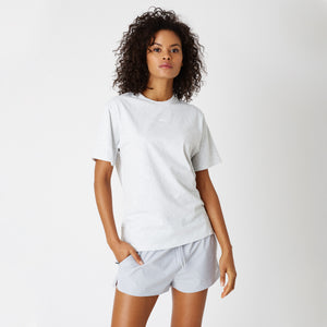 Kith Women Mott Tee - Light Heather Grey
