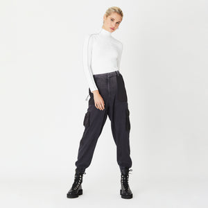 Kith Women Leah L/S Turtleneck - White