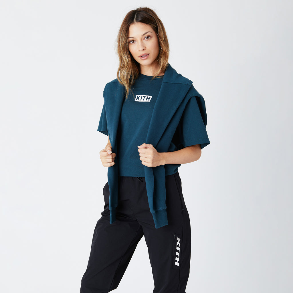 Kith Women Mott Tee - Night Sea-look