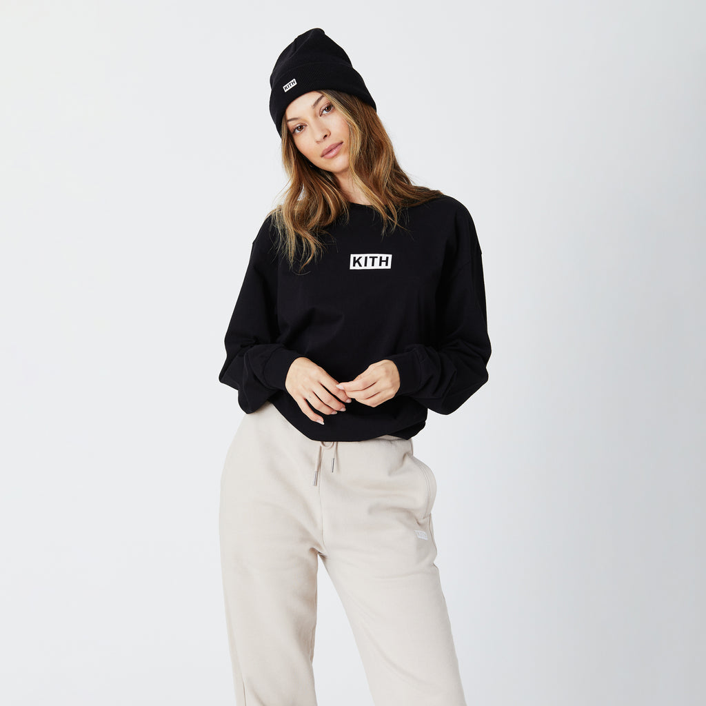 Kith Women Sonoma L/S - Black-look