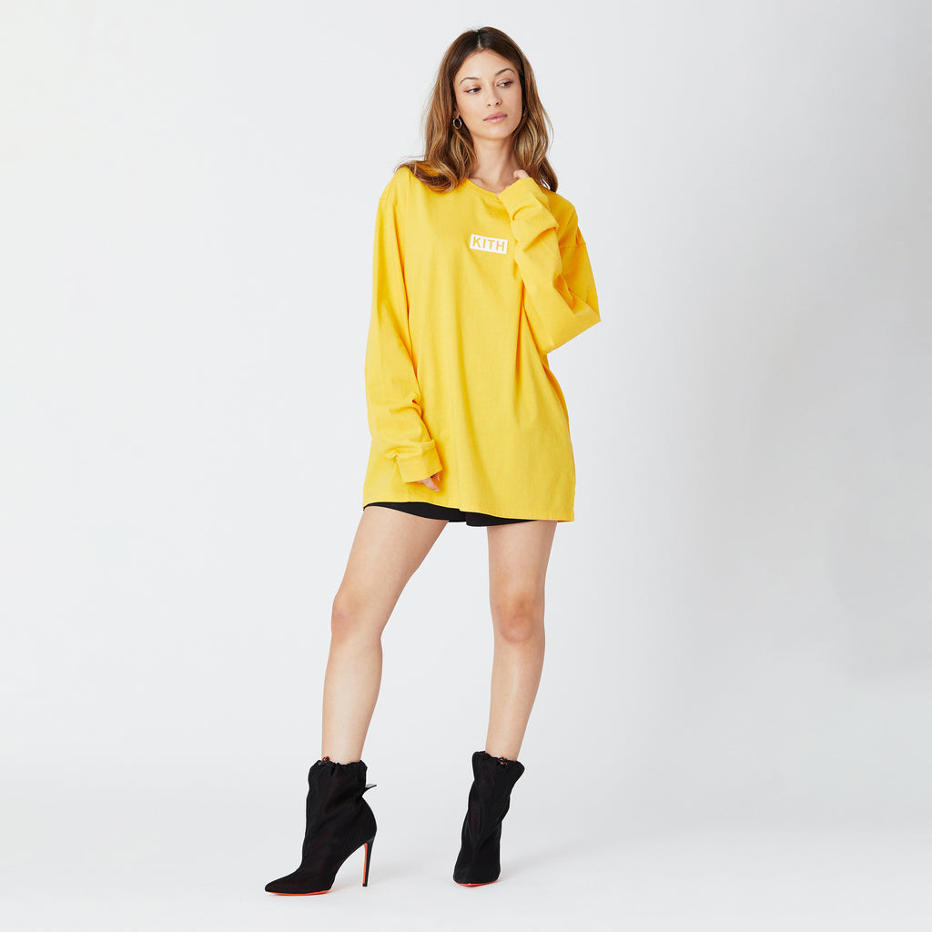 Kith Women Sonoma L/S - Banana-look