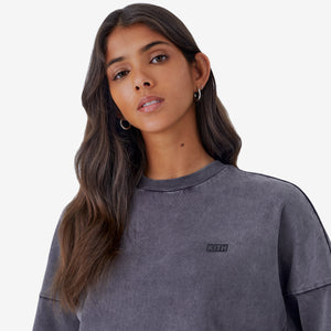 Kith Women Cropped Lucy L/S - Black Image 4