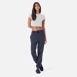 Kith Women Mulberry Washed Tee - Nude