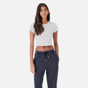 Kith Women Mulberry Washed Tee - Nude Image 3