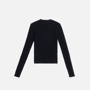 Kith Women Brit L/S Tee - Black