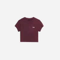 Kith Women Mulberry Tee - Wine Thumbnail 1
