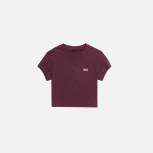 Kith Women Mulberry Tee - Wine Image 1