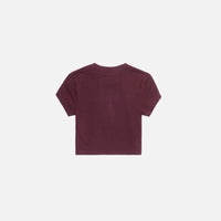 Kith Women Mulberry Tee - Wine Thumbnail 2