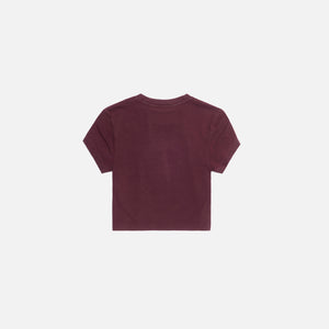 Kith Women Mulberry Tee - Wine Image 2