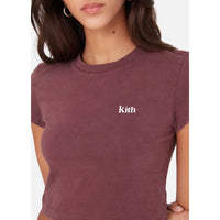 Kith Women Mulberry Tee - Wine Thumbnail 3