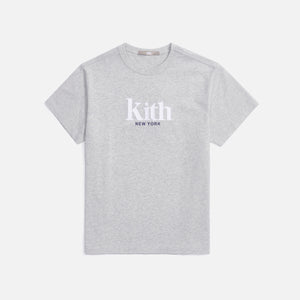 Kith Women Mott New York Tee II - Pavement Heather