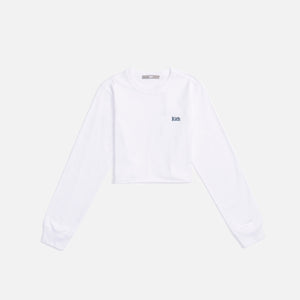 Kith Women Lucy Cropped L/S II - White