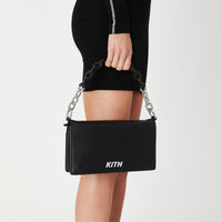 Kith Women Sienna Crossbody Leather Bag - Black Thumbnail 1