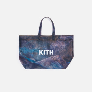 Kith Women Haynes Grid Mesh Death Valley Tote - Waffle