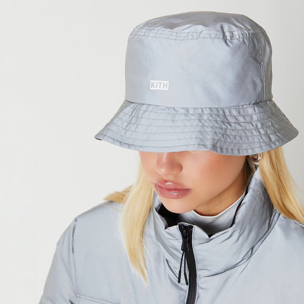 Kith Women Bucket Hat - Reflective-look