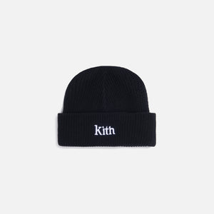 Kith Women Ribbed Mia Beanie - Black Image 1