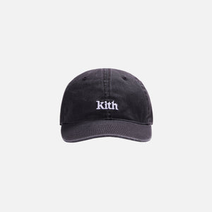 Kith Women Washed Twill Cap - Black