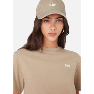 Kith Women Washed Twill Cap - Chai