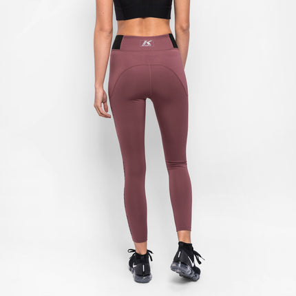Kith Carrie Cire Tights - Mauve