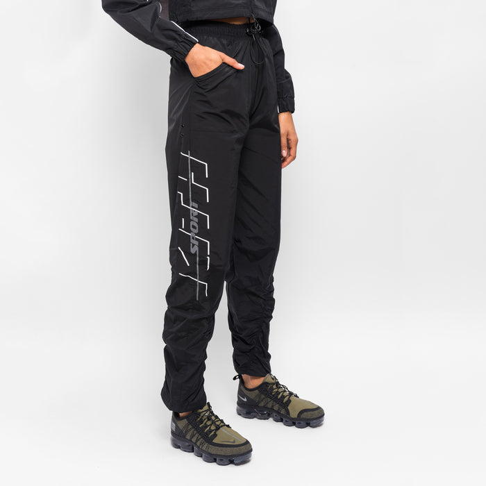 Kith Women K Sport Nylon Pants - Black