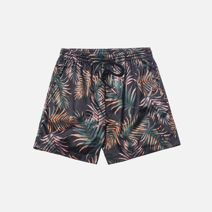 Kith Satin Ellen Short - Leaf Print