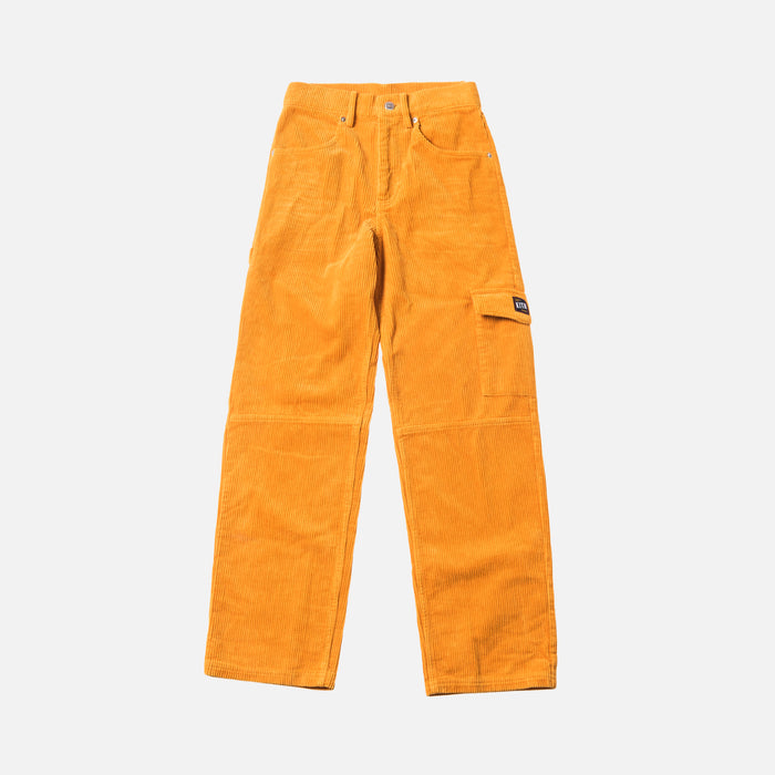 Kith Women Rya Corduroy Pant - Golden Yellow