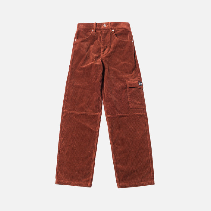 Kith Women Rya Corduroy Pant - Burnt Orange